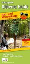 Rad- und Wanderkarte Naturpark Dübener Heide, Publicpress