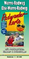 Radwanderkarte Werre-Radweg, Else-Werre-Radweg M 1:50.000