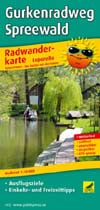 Radwanderkarte Gurkenradweg Spreewald, Publicpress