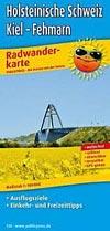 Radwanderkarte Holsteinische Schweiz, Kiel - Fehmarn M 1:100.000