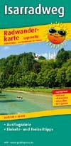 Radwanderkarte Isar-Radweg, Publicpress