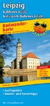 Radwanderkarte Leipzig, Dahlener Heide, Naturpark Dübener Heide, Publicpress