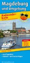 Radwanderkarte Magdeburg und Umgebung, Publicpress