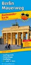 Radwanderkarte Berlin - Mauerweg, Publicpress
