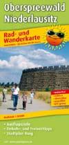 Rad- und Wanderkarte Oberspreewald - Niederlausitz