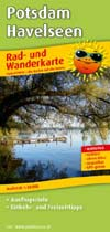 Rad- und Wanderkarte Potsdam Havelseen, Publicpress