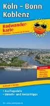 Radwanderkarte K�ln - Bonn - Koblenz, Publicpress