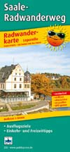 Radwanderkarte Saale-Radwanderweg, Publicpress