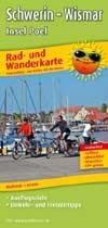Rad- und Wanderkarte Schwerin - Wismar, Insel Poel, Publicpress