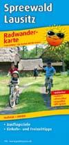 Radwanderkarte Spreewald - Lausitz, Publicpress