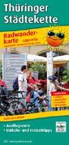 Radwanderkarte Thüringer Städtekette, Publicpress