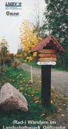 (Rad-) Wandern im Landschaftspark Goitzsche