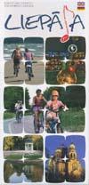 Karte Liepaja f�r Fahrradtouristen