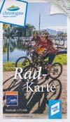 Radkarte Chiemgau - Bayerns Lächeln Maßstab 1:75.000