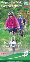 Radtourenkarte Bayrischer Wald