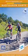 Radtouren-Karte Aktiv im Bayrischen Jura - Rundkurs Fünf-Flüsse-Radweg