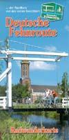 Radwanderkarte Deutsche Fehnroute - Rundkurs