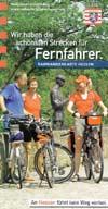 Radwanderkarte Hessen - die schönsten Strecken für Fernfahrer