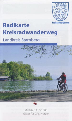Radlkarte Kreisradwanderweg Landkreis Starnberg M 1:50.000