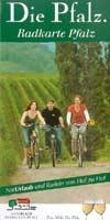 Radkarte Die Pfalz, Maßstab 1:155.000