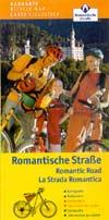 Radkarte Romantische Straße - vom Main zu den Alpen