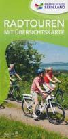 Radtouren Fränkisches Seenland mit Übersichtskarte