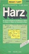 Wanderkarte Harz (1992/1993) Maßstab 1:50.000