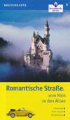Routenkarte Romantische Straße vom Main zu den Alpen