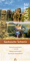 Übersichtswanderkarte Sächsische Schweiz 1:60.000
