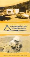 Campingplatz am Schwanenteich Mühlhausen/Thüringen, Flyer