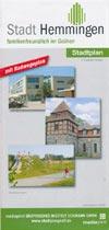 Stadt Hemmingen - Stadtplan mit Radwegeplan