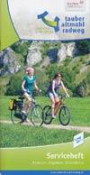 Tauber-Altmühl-Radweg: vom Main zur Donau