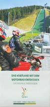 Das Vogtland mit dem Motorrad entdecken