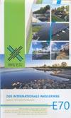 Der internationale Wasserweg E70 in Polen - Karte für Bootsfahrer