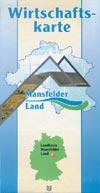 Wirtschaftskarte Mansfelder Land 2002