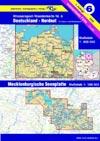 Wassersport-Wanderkarte WW6 Deutschland-Nordost Mecklenburgische Seenplatte