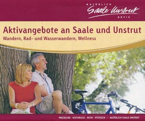 Aktivangebote an Saale und Unstrut (Karte)