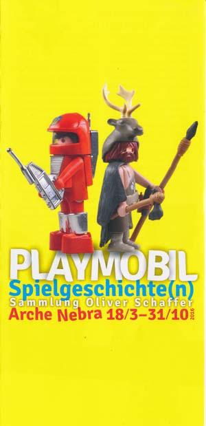Playmobil Spielgeschichte(n) - Sonderausstellung in der Arche Nebra 18.3.-31.10.2016