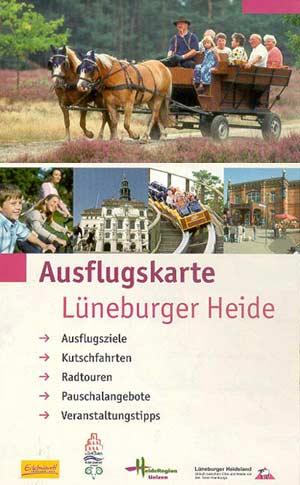 Ausflugskarte Lüneburger Heide