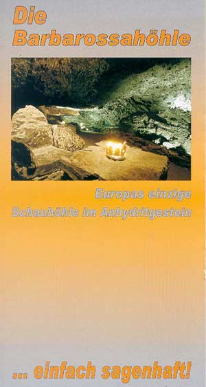 Barbarossahöhle - Schauhöhle im Anhydritgestein