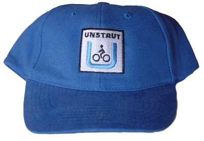 Unstrut-Radweg-Basecap blau