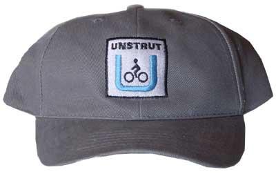 Unstrut-Radweg-Basecap grau