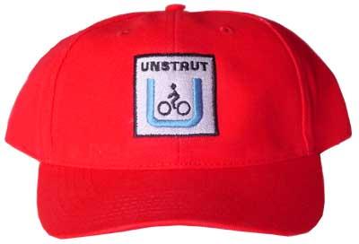 Unstrut-Radweg-Basecap rot