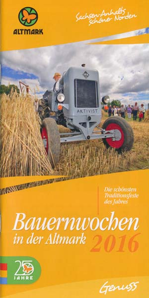 Bauernwochen Altmark 2016