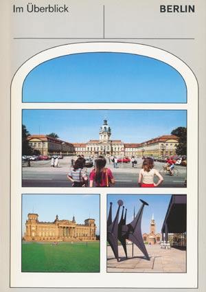 Berlin im Überblick, Informationszentrum  6. Auflage 1989