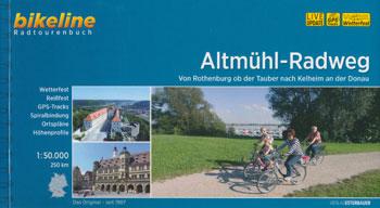 Bikeline-Radtourenbuch Altmühltal-Radweg von Rothenburg ob der Tauber nach Kelheim an der Donau
