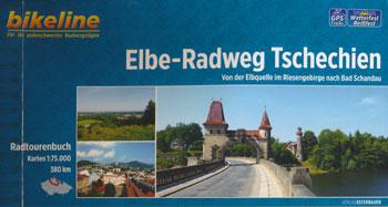 Bikeline-Radtourenbuch Elbe-Radweg Tschechien: Von der Elbequelle im Riesengebirge nach Bad Schandau