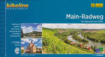 Bikeline-Radtourenbuch Main-Radweg von Bayreuth zum Mainz