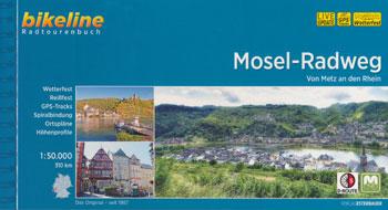 Bikeline-Radtourenbuch Mosel-Radweg von Metz an den Rhein