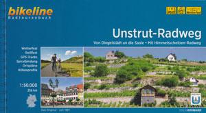 Bikeline-Radtourenbuch Unstrut-Radweg, von der Dingelstädt an die Saale - mit Himmelsscheibenradweg